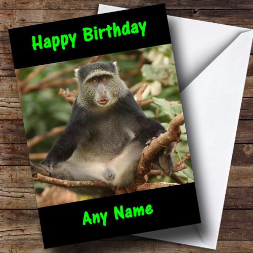 Funny Monkey Pub Personalised Birthday Card The Card Zoo – Funny Monkey Birthday Cards