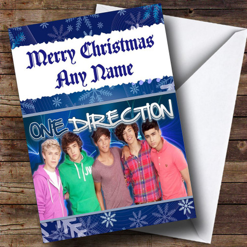 Harry Styles One Direction Personalised Christmas Card The Card Zoo – One Direction Personalised Birthday Card