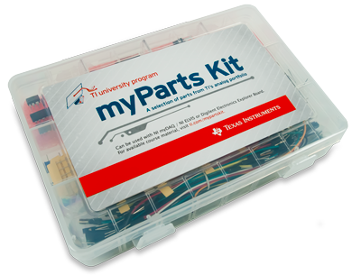 myParts kit, oblique. Digilent retains the right to change a part or product to a similar item to meet lead time, cost, and MOQ requirements.
