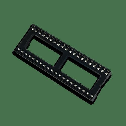 40-pin DIP Socket, oblique.