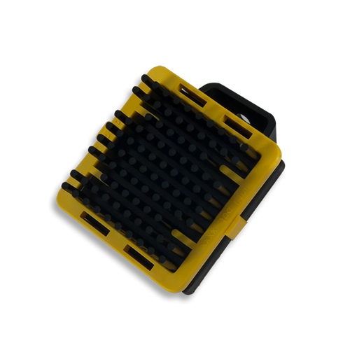 Heatsink with Clip, oblique.