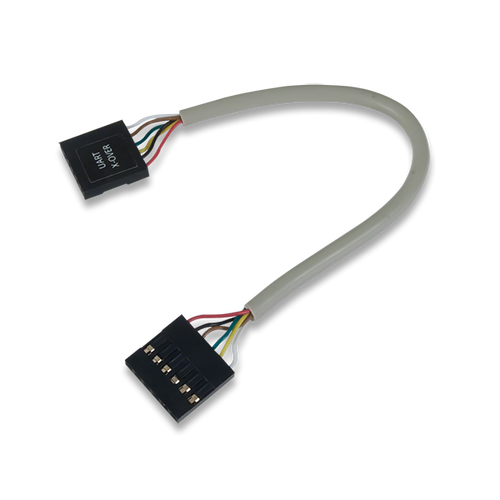 UART Crossover Cable, oblique.