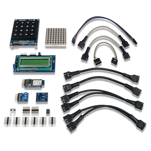 myRIO Embedded Kit, box contents. Digilent retains the right to change a part or product to a similar item to meet lead time, cost, and MOQ requirements.