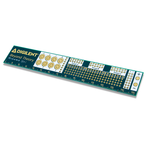 Digilent PCB Ruler, oblique.