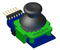 Pmod JSTK2 3D CAD model. Available for download in the Resource Center.