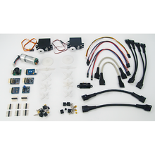 myRIO Mechatronics Kit, box contents. Digilent retains the right to change a part or product to a similar item to meet lead time, cost, and MOQ requirements.
