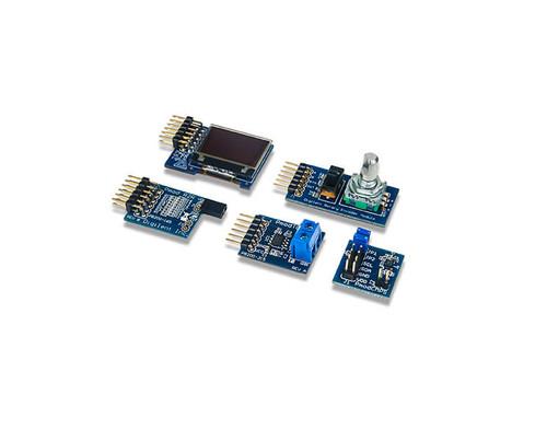 Nexys 4 DDR Pmod Pack: PmodTC1, PmodOLEDrgb, PmodENC, PmodCMPS, PmodR2R