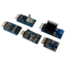 Arty Z7 Pmod Pack includes the Pmod NAV, Pmod SSR, Pmod RTCC, Pmod TPH2, and the Pmod ENC.