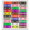 30-Pin Flywire Labels for the Analog Discovery 2, top view.