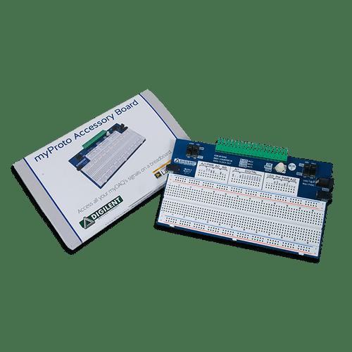 myProto Protoboard box contents.