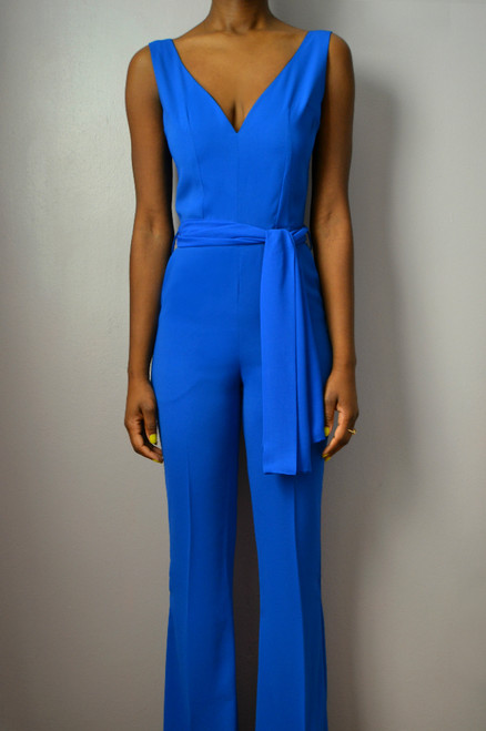 Sweetheart Flare Jumpsuit