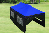 Blue Flame 10'x20' Pop up Tent with 6 Sidewalls - F Model Upgraded Frame