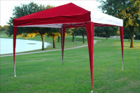 10'x10' Pop Up Canopy Party Tent EZ CS - Red/White N
