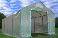 Greenhouse 20'x10' Triangle Top - Walk In Nursery