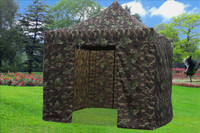 Camouflage 10'x10' Pop up Tent with 4 Sidewalls - E Model