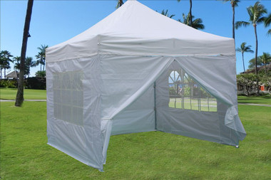 Image 1 & 10x10 white pop up tent canopy