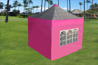 Pink Zebra 10'x10' Pop up Tent with 4 Sidewalls - E Model