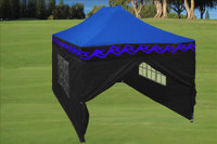 Blue Flame 10'x15' Pop up Tent with 4 Sidewalls - E Model
