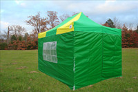 Green Yellow 10'x15' Pop up Tent with 4 Sidewalls - E Model