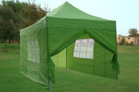 Emerald 10'x15' Pop up Tent with 4 Sidewalls - E Model