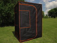 "Grow Tent 09 - 100% Mylar 600D Reflective Greenhouse for Hydroponics 60""x60""x84"""