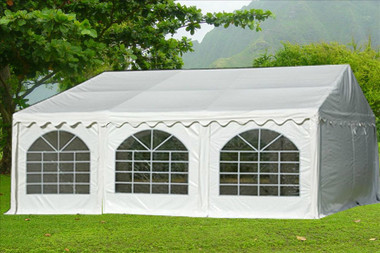Image 1 & 20u0027x20u0027 PVC Party Tent - Heavy Duty