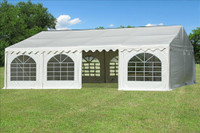 PVC Party Tent 26'x20' - Heavy Duty Party Wedding Tent - White