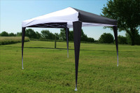10'x10' Pop Up Canopy Party Tent EZ CS - Black/White N