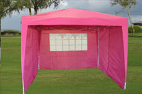 10'x10' Pop Up Canopy Party Tent EZ CS - Pink