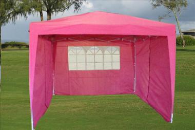 Image 1 & 10u0027x10u0027 Pop Up Canopy Party Tent EZ CS - Pink
