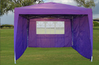 10'x10' Pop Up Canopy Party Tent EZ CS - Purple