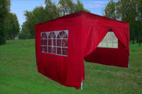 10'x10' Pop Up Canopy Party Tent EZ CS - Red