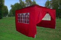 10'x10' Pop Up Canopy Party Tent EZ CS - Red