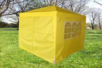 10'x10' Pop Up Canopy Party Tent EZ CS - Yellow