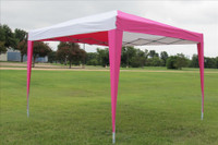 10'x10' Pop Up Canopy Party Tent EZ CS - Pink/White N