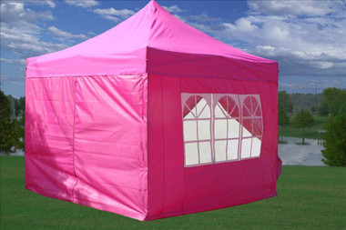 Image 1 & Pink 10u0027x10u0027 pop up tent canopy upgraded frame