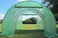 Greenhouse 10'x10' Round (B2) - Walk In Nursery (58 Pounds)
