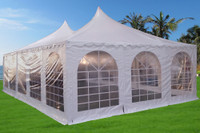 Pagoda PVC Tent 32'x20' - Heavy Duty Wedding Party Tent Canopy - White