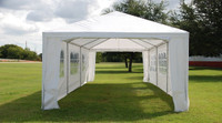 PE Wedding Tent - 12'x30' - WDMT1230 (w Metal Connectors)