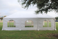 Frame PE Tent Wedding Party Canopy Shelter White - 30'x20', 40'x20'