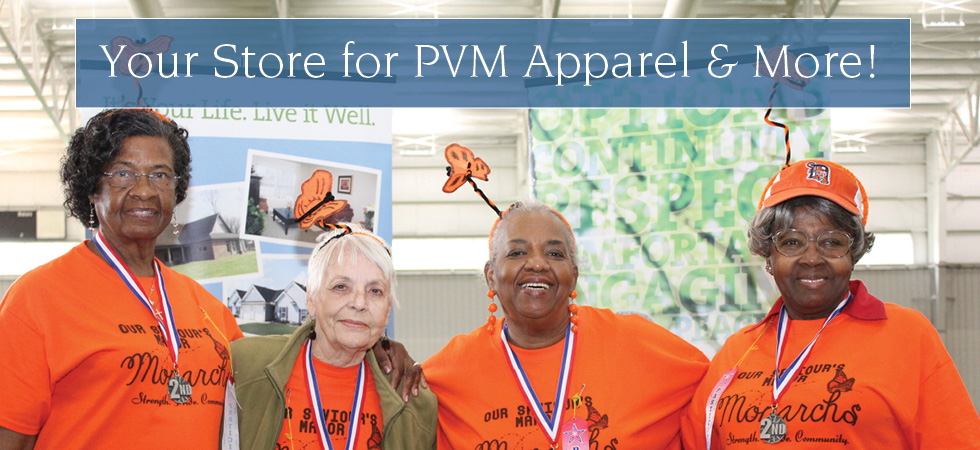 Your Store for PVM Apparel & More!