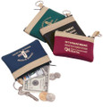 Assorted Coin Pouch Keychains