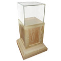 Stand Free Wood Donation Container