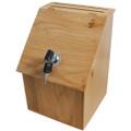 Wood Donation & Ballot Box