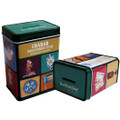 "2.35"" Wide Tin Donation Box"