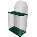 Display Acrylic Donation Box - Green Color