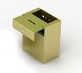 Custom Metal Donation Box