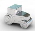Tin Tractor Box