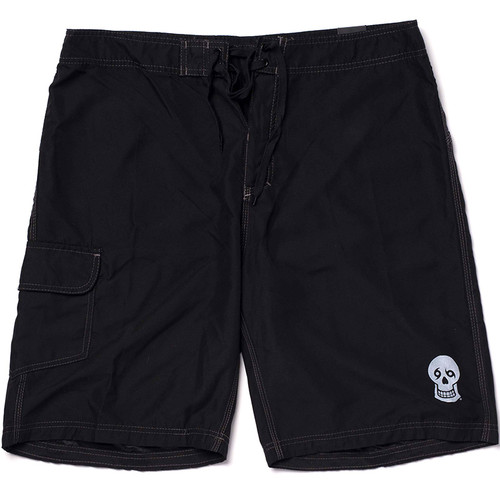 Skull Board Shorts (Black)
