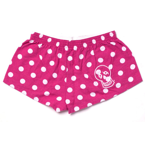 Flannel Bitty Boxers (Pink Dot)